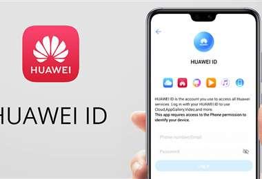 •El Huawei ID permite al usuario iniciar sesión desde cualquier dispositivo Huawei