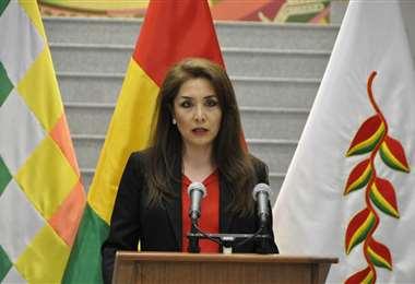La viceministra Isabel Fernández