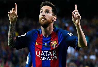 Lionel Messi le envía un mensaje a sus fanáticos. Foto: Internet