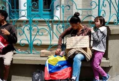 Los venezolanos están en situación de vulnerabilidad