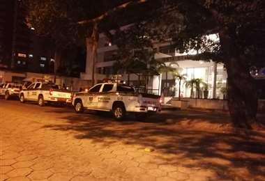 Policía se hizo presente en el lugar de los hechos