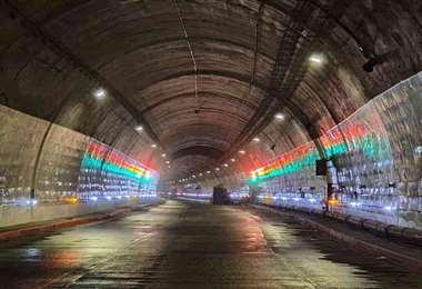 El túnel inaugurado. Foto Semana