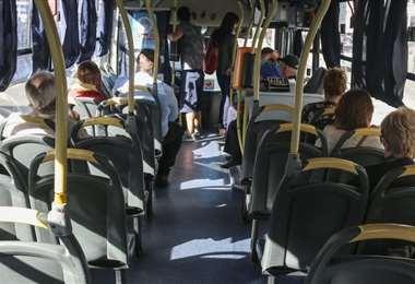Uno de los factores determinantes fue que los pasajeros no llevaban barbijos