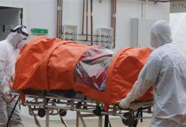 Ya no existe saturación en las unidades de terapia intensiva. Foto: Fuad Landivar