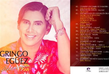 El cantante, de 38 años, grabó en el estudio de Jorge Suárez, de Los Cambitas