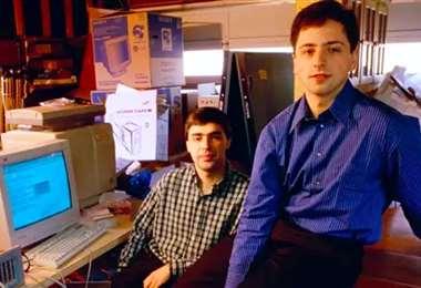 Larry Page y Sergey Brin fundaron Google. Foto
