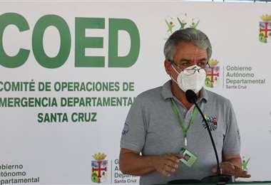 Luis Alberto Alpire, secretario de Desarrollo Productivo (Gobernación)