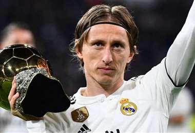 Luka Modric es un futbolista clave en el Real Madrid. Foto: AFP