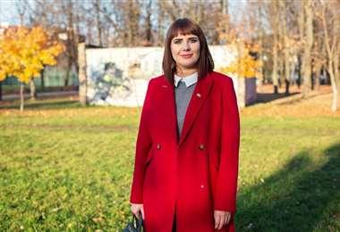 La opositora bielorrusa Olga Kovalkova. Foto Internet