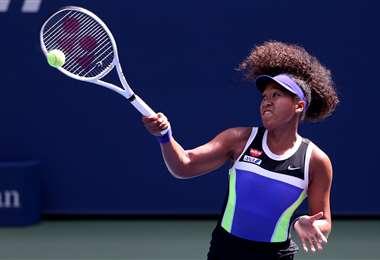 Osaka es una de las favoritas para ganar el US Open. Foto: AFP