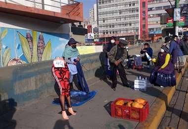 Aún hay restricciones en la ciudad de La Paz.