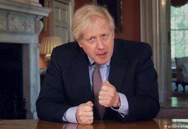 El primer ministro de Gran Bretaña. Foto Internet