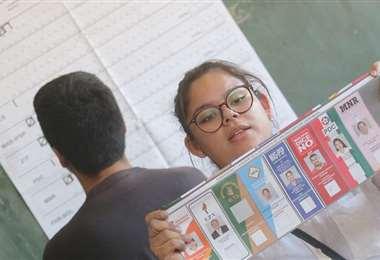 El 18 de octubre los bolivianos acudirán a las urnas/Foto: EL DEBER