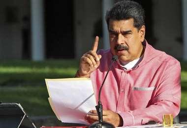 El mandatario venezolano. Foto Internet