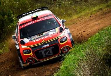 Marquito Bulacia corrió con el número 28 en este Rally de Estonia. Foto: Prensa Marquito Bulacia