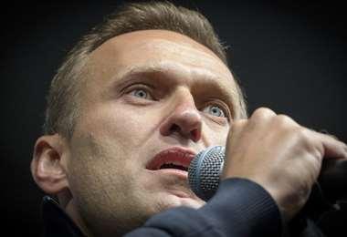 El opositor ruso Navalni. Foto AFP