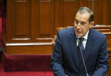 El presidente del Consejo de Ministros de Perú. Foto Internet