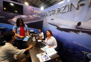 Las agencias habilitaron la venta de boletas/Foto: Jorge Gutierrez