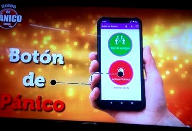 El Botón Pánico es una aplicación que busca frenar la violencia contra la mujer.