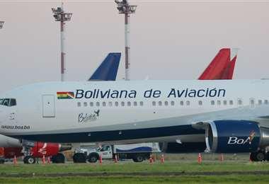 La estatal Boa reanudó vuelos a Argentina, Brasil, España y EEUU /Fotos: Jorge Gutiérrez