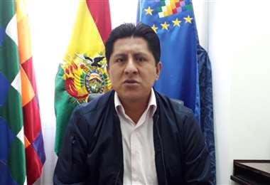 Huaraya es diputado del MAS por La Paz. Foto: RTP