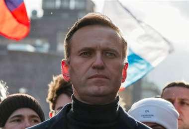 El líde opositor ruso se halla internado en Alemania. Foto Internet