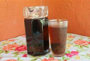 Refresco de mocochinchi, una de las bebidas más ricas de Santa Cruz