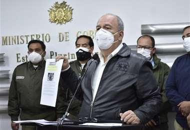 Murillo en conferencia de prensa I APG.