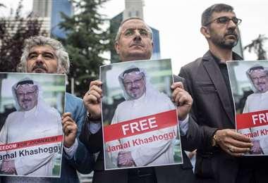 Protestas por la muerte del periodista. Foto Internet