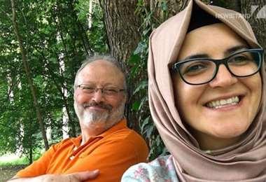 Eran otros tiempos. Hatice y Jamal. Foto Internet