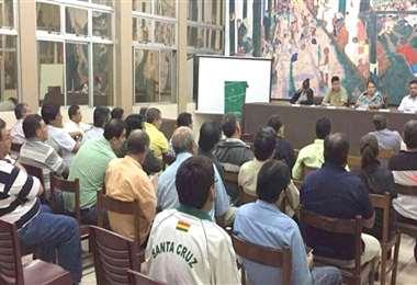 Una reunión de clubes de la ACF Foto: internet