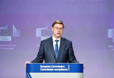 El nuevo comisario europeo de comercio. Foto AFP