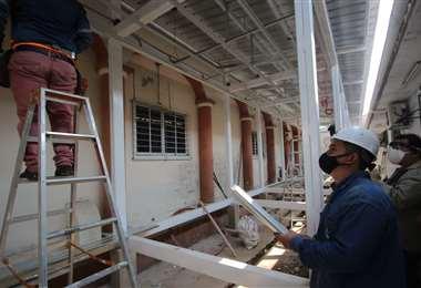 El domo se instalará en los predios del Banco de Sangre. Foto: Ipa Ibañez