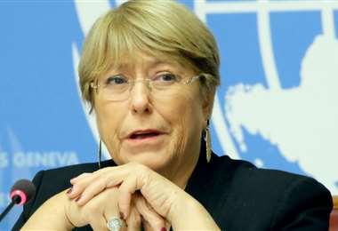 La exmandataria chilena Bachelet. Foto Internet