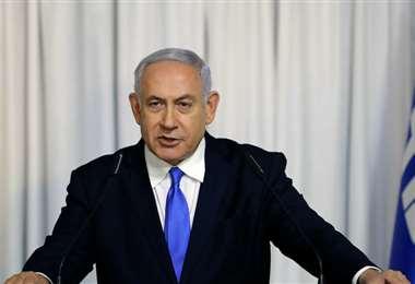 Esperan a Netanyahu para la suscripción. Foto Internet