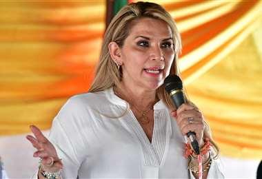 Jeanine Áñez, presidenta del Estado/Foto: ABI