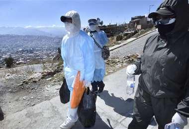 La Paz flexibiliza su carentena en fin de semana. Foto APGNoticias.