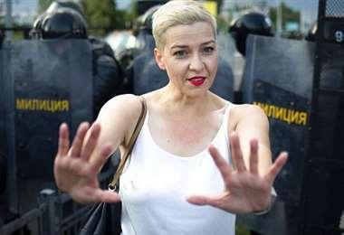 María Kolésnikova. Foto Internet