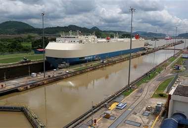 El Canal de Panamá en apuros. Foto Internet