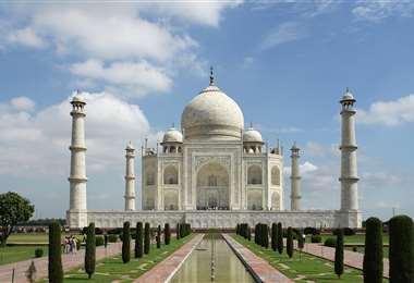 El famoso Taj Mahal. Foto Internet