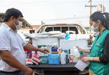 La ayuda se distribuirá desde hoy en comunidades guarayas