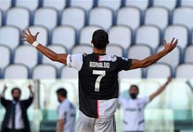 Cristiano Ronaldo es la principal estrella de la Serie A. Foto: Internet