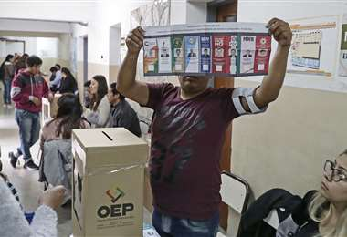 Así votaron en Argentina en 2019. Foto: Infobae
