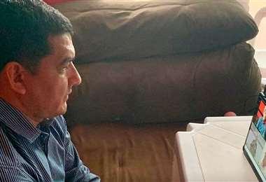 Rodríguez, uno de los presidentes de la FBF. Foto: Prensa FBF