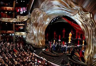 Escenario de la entrega del premio Oscar, que busca mayor inclusión y diversidad