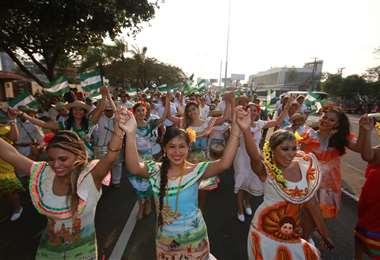 El Día de la Tradición fue declarado por la Alcaldía Patrimonio Cultural de Santa Cruz