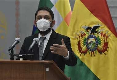 Viceministro de Transparencia y Lucha Contra la Corrupción, Guido Melgar. Foto: APG