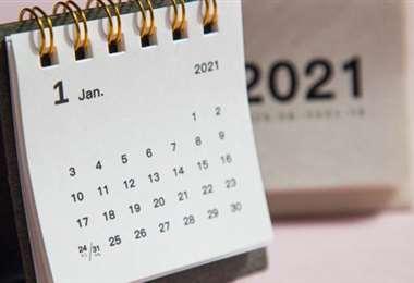 Calendario de feriados 2021
