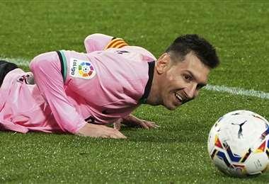 Lionel Messi quiere dejar el Barcelona. Foto: APG Noticias