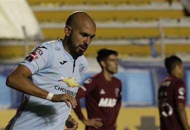 Riquelme fue el goleador del torneo Apertura 2020. Foto: AFP